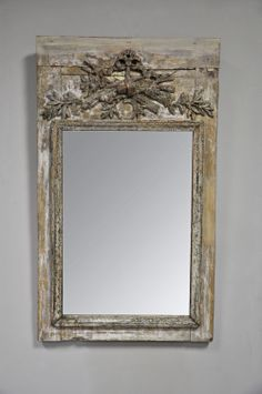 This 18th Century French Trumeau would add the perfect touch of rustic flare to any room!