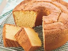 Two-Step Pound Cake, Southern Living
