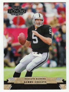 Kerry Collins # 72 - 2005 Playoff Honors Football