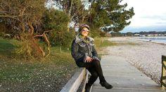 #anabelycarlos aprovechando esta fresquita tarde de sol con este hermoso paisaje!! blog.carlossanin.com