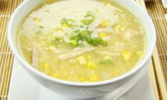 This delicious sweet corn and chicken soup is super-quick and tasty because it uses a barbecue chicken. It's an easy soup for a time poor cook!