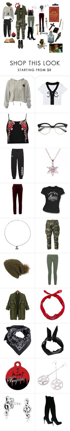 """""""Emersons &froggs"""" by traceymarh ❤ liked on Polyvore featuring Sans Souci, Boohoo, adidas, Alberta Ferretti, NOVICA, Faith Connexion, Maison Scotch, The Great, MANGO and Ultimate"""