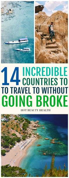 Planning a solo adventure trip or vacation with family outside the USA this summer but don't have a large travel fund? My list of beautiful places to travel gives budget travelers so many options. Whether you want to visit Asia, Europe, South America or Africa, you can stretch your dollar as far as possible. Click pin to check out these 14 cheap travel destinations! Hot Beauty Health #traveltips #cheaptravel #travelonabudget #beautifulplaces #hotbeautyhealth