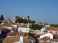 Vila de Óbidos vista pelas muralhas!