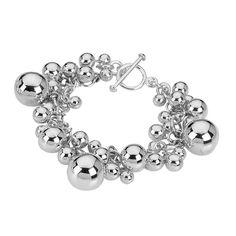 Tianguis Jackson Silver Ball Bracelet BT1628 http://www.oghamjewellery.com/
