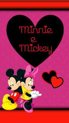 Minnie Mouse Cartoons, Minnie Mouse Images, Mickey Mouse Pictures, Mickey Mouse Wallpaper, Disney Wallpaper, Cartoon Wallpaper, Iphone Wallpaper, Mickey And Minnie Love, Mickey And Friends