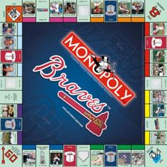 MONOPOLY: Atlanta Braves™ Collector's Edition | USAopoly