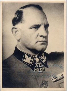 "simbartez: "" degrelle88: "" Josef ""Sepp"" Dietrich (28 May 1892 – 21 April 1966) was a Waffen-SS General in Nazi Germany who commanded units up to Army level during World War II. Prior to 1929, he was..."