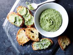 oil, Parmesan, sauteed garlic and fresh basil (or spinach or arugula ...