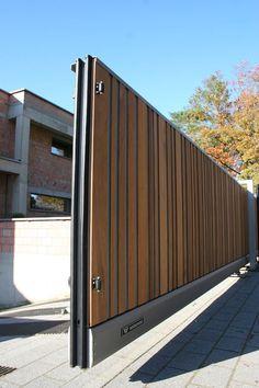 House Main Gates Design, Main Entrance Door Design, Front Gate Design, Sliding Door Design, Door Gate Design, Modern Entrance, Sliding Gate, Entrance Gates, Gate Designs Modern