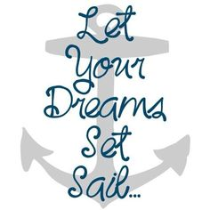 Cruise Quote: let your dreams set sail | @cruiseinfonl