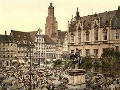 Postcards of the Past - Old Postcards of Wroclaw (Breslau), Poland Fürstentum Liechtenstein, Vintage Architecture, Second Empire, White City, Europe, Old Postcards, Nature Photos, Old Photos, Paris Skyline