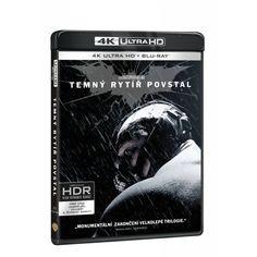 Blu-ray Temný rytíř povstal, UHD + BD + bonus disk, CZ dabing | Elpéčko - Predaj vinylových LP platní, hudobných CD a Blu-ray filmov Sci Fi Fantasy, Blues