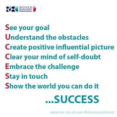 SUCCESS in a nutshell www.iloverecruitment.wordpress.com #recruitment #quotes