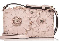 Valentino Floral Applique Shoulder Bag Cheap Designer Handbags c1ed5c2cf96a4