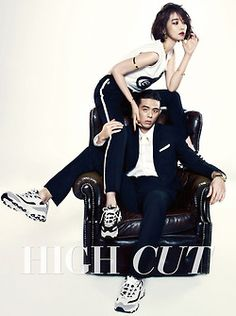 Go Joon Hee and Beenzino - High Cut Magazine Vol.130