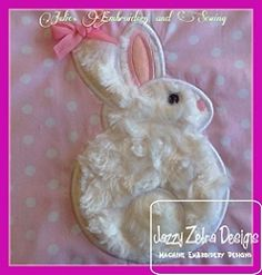Bunny 51 Applique - 4 Sizes! | What's New | Machine Embroidery Designs | SWAKembroidery.com Jazzy Zebra Designs
