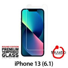 Brando Workshop Premium Tempered Glass Protector (Rounded Edition) (iPhone 13 (6.1))