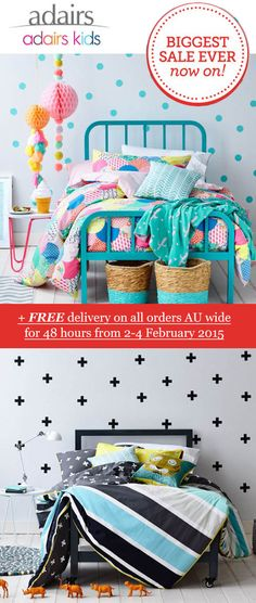 Adairs -www.adairs.com.auhosts the largest and most comprehensive range of bed linen, bedding products, towels, cushions, throws, homewares, wall art and fu