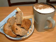 These are our version of Biscotti, they are great for dipping in tea or coffee when you have to have a snack or breakfast on the run! Great for a snack with a cup of coffee on a cold blustery evening. Contains Fibre. Bar Recipes, Sweet Recipes, Dessert Recipes, Healthy Recipes, Rusk Recipe, South African Recipes, Recipe Details, Snack Bar, No Bake Desserts