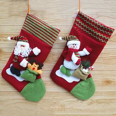 2015 New Cute Christmas Hanging Ornament New Year Christmas Cartoon Doll Decorated Socks Decoracao De Natal Sold By Piece SHB213-in Christmas Decoration Supplies from Home & Garden on Aliexpress.com | Alibaba Group