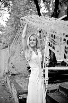 Nicole Curtis the Rehab Addict - glamour photo shoot at the $ House - in a vintage dress
