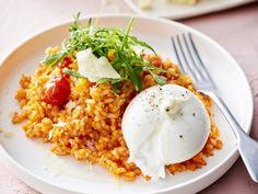 Veggie Recipes, Vegetarian Recipes, Dinner Recipes, Healthy Recipes, Veggie Food, Healthy Food, Polenta, Risotto, Gnocchi