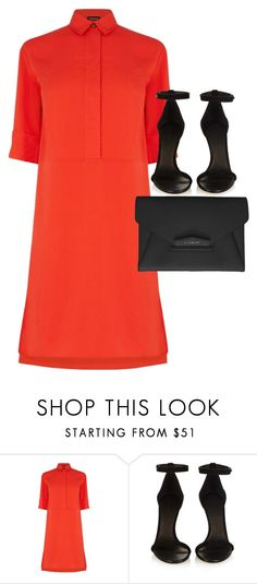 """Untitled #2685"" by elenaday on Polyvore featuring Warehouse, Isabel Marant and Givenchy"