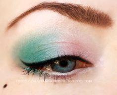 Pastel, Colourful, Eye, Make-up, Makeup, Fashion, Beauty