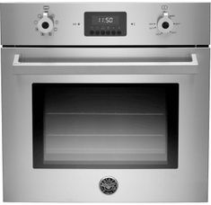 Bertazzoni 24 Inch Single Electric Wall Oven with cu. European Convection Oven, Manual Clean, 7 Cooking Functions, LED Touch Interface and Metal Finish Knobs Countertop Oven, Countertops, Electric Wall Oven, Single Wall Oven, 24 Inch Wall Oven, Built In Ovens, Wire Shelving, Metal Finishes, Interior Lighting
