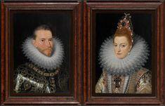 Frans Pourbus II, Portretten van de aartshertogen Albrecht en Isabella, Musea Brugge <br/>© www.lukasweb.be - Art in Flanders vzw, foto Hugo Maertens