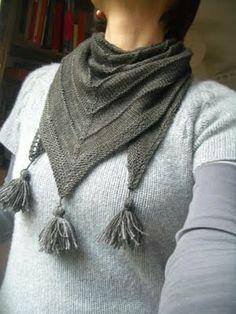 trico*bsession: tricoter un châle super super facile