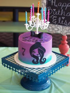 Ever After High inspired Cake