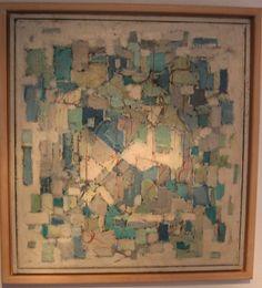 Neeltje Twiss - Karel Bleijenberg 1913 - 1981  Abstract Formaat: 60 x 55 cm Olieverf op doek Signatuur AK   Karel Bleijenberg op de Website van de Nieuwe Haagse School  Beschrijving van Karel Bleijenberg bij de RKD