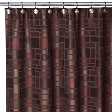 Shower Curtain For Copper Teal Brown Maroon Bathroom 2999