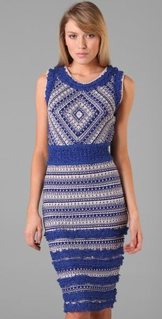 Rachel Roy Crochet Dress