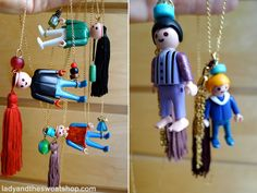 Playmobil necklaces