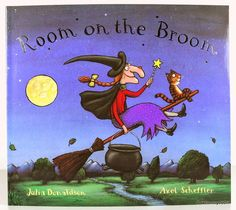 Harris Sisters GirlTalk: Room on the Broom.  GUYS YOU DONT UNDERSTAND THIS WAS ONE OF MY FAVORITE CHILDHOOD BOOKS OH MY GAWSHHHHH
