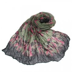http://www.artfire.com/ext/shop/studio/bohemiantouch/1/1/10311//  Military Green Vintage Pink Bird Print Soft Touch Fashion Shawl Scarf, scarf is a great addition to your collection of fashion accessories. Perfect for all year round.