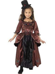 buy child red vampiress costume available for next day delivery our child vampiress costume comes complete with the dress and hat