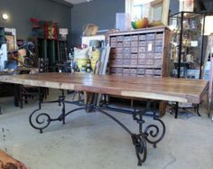 Mesa plegable mesa de metal 1850 hierro forjado mesa de jardín mesa metálica hierro