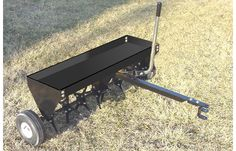 "Model HDP-40 - 40"" Trailing Plug Aerator  This tow behind Aerator is great for medium to large size yards/lawns.  Heavy-Duty Implement, which gets your Yard Ready to Fertilize and Feed.  Aids your Lawn's Health by Allowing the Fertilizer, Water and Air to get more Quickly into the Soil for Better, Faster Growth and Deeper, Stronger Roots.   It can be pulled with your tractor, ATV or UTV."