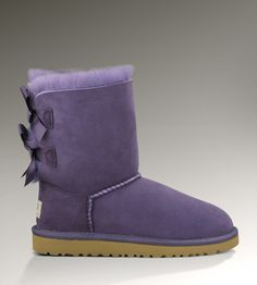 2013 Womens Bailey Bow UGG Boots PURPLE VELVET