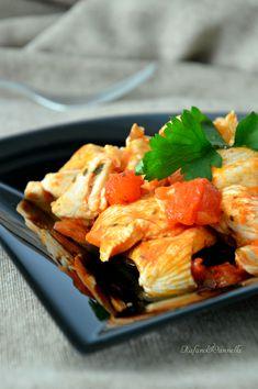 Petto di pollo alla pizzaiola  http://blog.giallozafferano.it/rafanoecannella/petto-di-pollo-alla-pizzaiola/