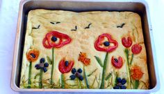 Focaccia Bread Recipe, Bread Recipes, Baking Recipes, Artesian Bread, Pretzel Roll Recipe, Nibbles For Party, Bread Art, Sicilian Recipes, Dessert Bread