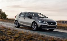 Scarica sfondi Volvo V40 Cross Country, T5 AWD, auto Nuove, berline, strada, velocità, auto svedese Volvo