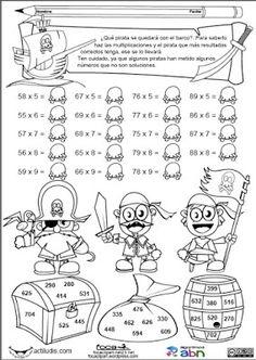 Játékos tanulás és kreativitás: Játékos feladatlapok a szóbeli szorzás gyakorlásához Math Games, Math Activities, Math Exercises, Math Multiplication, Christmas Math, Math Art, Free Math, 3rd Grade Math, Math Classroom