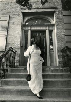 Bill Cunningham, Stuyvesant Fish House (built 1804), 21 Stuyvesant Street between Second and Third Avenues, 1968-1976