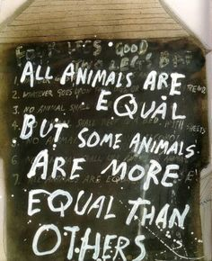 Animal Farm illustrated by Ralph Steadman