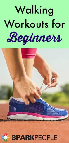 Get on the right track with these easy-to-follow #walking #workouts for newbies! | via @SparkPeople #exercise #fitness #beginnerfitness